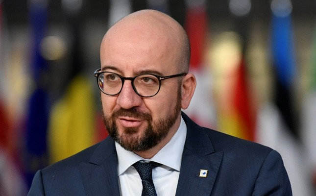 Belgium's Prime Minister Charles Michel arrives at a European Union leaders summit in Brussels, Belgium December 14, 2018 (Reuters Photo)