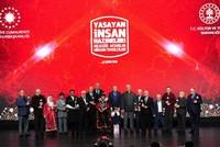 الرئاسة التركية تحتفي بالكنوز الوطنية البشرية الحية