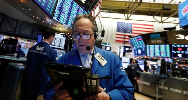 Trader Steven Kaplan works on the floor of the New York Stock Exchange, Wednesday, Dec. 26, 2018. (AP Photo)