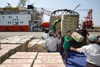 A Malaysian ship carrying aid for thousands of Rohingya Muslims who have fled a bloody army crackdown in Myanmar docked in Bangladesh's Chittagong port Tuesday days after it met nationalist...