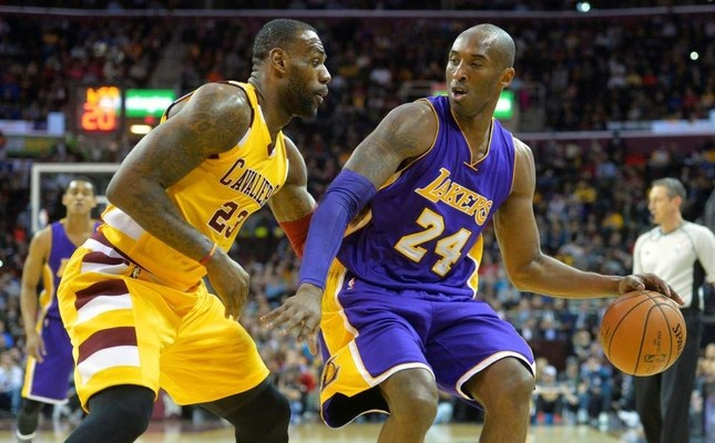 BBC issued an apology for mixing up LeBron James L and Kobe Bryant. Reuters Photo
