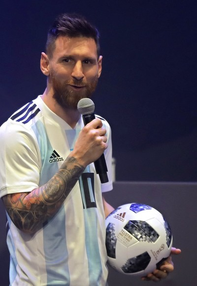 Adidas unveils official match ball for 2018 World Cup in Russia