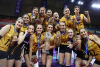 Turkish women reigning world, European volleyball for the last decade