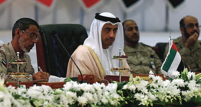 UAE's Foreign Minister Sheikh Abdullah bin Zayed Al Nahyan attends a meeting of member states of Coalition to Support Legitimacy in Yemen, in Riyadh, Saudi Arabia. (Reuters Archive Photo)