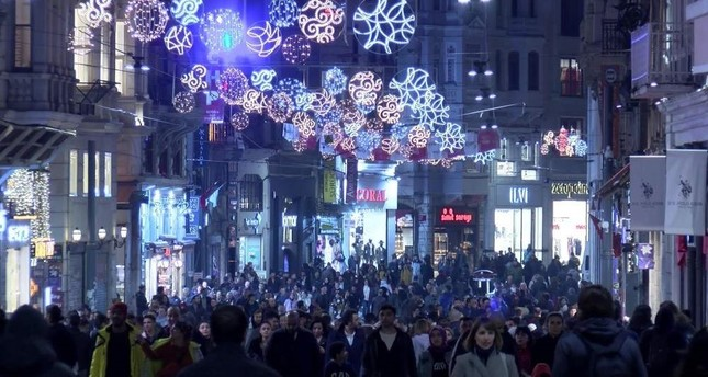 Beyo?lu and its famed ?stiklal Avenue are among the most popular spots for tourists visiting Istanbul from all around the world. DHA Photo