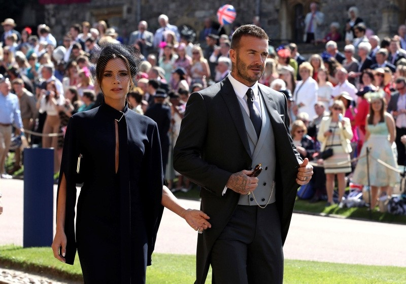 Here's all the A-list guests at the British royal wedding