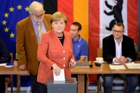 Bei der Bundestagswahl am Sonntag hat sich eine ähnliche Wahlbeteiligung abgezeichnet wie vor vier Jahren. Bis um 14.00 Uhr gaben 41,1 Prozent der Wahlberechtigten ihre Stimme ab, geringfügig...