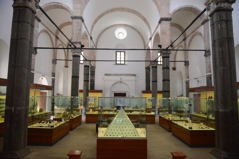 There are more than 12,000 works in the museum from other cities of the Black Sea region.