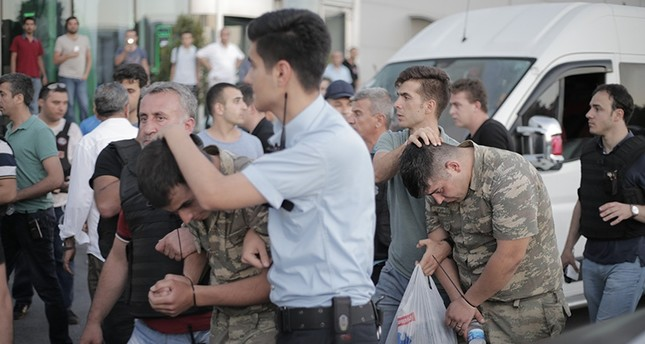 At least 1,563 pro-coup military personnel detained across Turkey