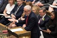 Labour's Corbyn questions evidence pointing at Iran in tanker attacks, urges restraint for UK gov't