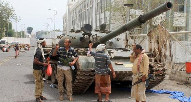 مقاتلون حوثيون في صنعاء (من الأرشيف)