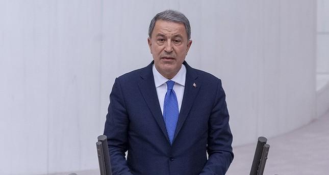 Iraq's Sinjar will not be new PKK stronghold: Defense Minister Akar