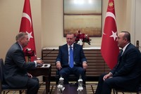 President Erdoğan, Sen. Graham meet in New York