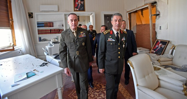 Akar to attend NATO meeting amid 'border army' dispute