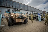 Turkey's domestic armored combat vehicles spotted at Hungarian National Defense Day events