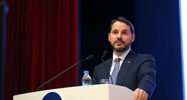Treasury and Finance Minister Berat Albayrak (AA Photo)