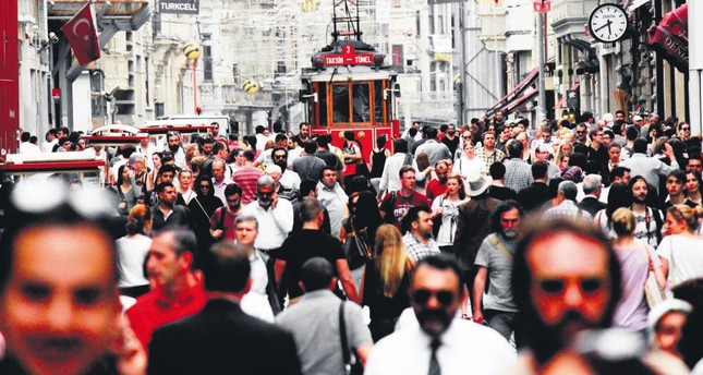 Istanbul's İstiklal Avenue is one of the most visited place by expats.