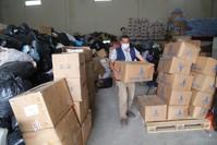 من المساعدات الإنسانية التركية إلى سوريا الأناضول