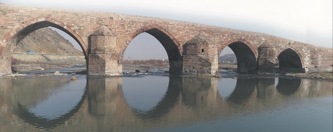 Research revealed that the bridge, the building material of which is cut stone with three different colors of black, red and gray hasnu2019t been demolished by natural events although it has been used for ages.