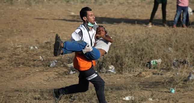 وفاة فلسطيني وإصابة 146 آخرين برصاص الجيش الإسرائيلي شرق غزة