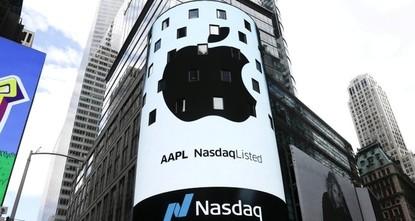 Apple ist nun eine Billion Dollar wert