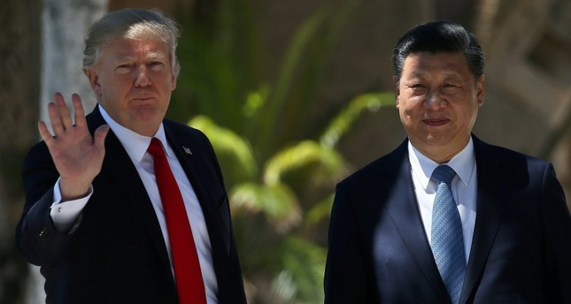 U.S. President Donald Trump and his Chinese counterpart Xi Jinping met last week.  (Reuters Photo)