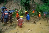 At least 134 killed in heavy-rain triggered landslides in Bangladesh