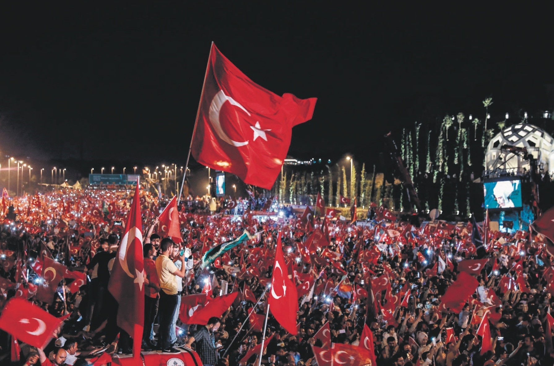 A large commemoration will be held on Sunday at the July 15 Martyru2019s Monument in Istanbul to mark the victory over FETu00d6u2019s failed coup.