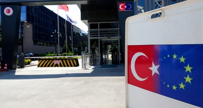 Turkey blasts EU report that calls to suspend accession