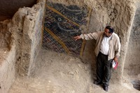 A fire destroyed a 2,000-year-old mural and much of the vestiges of an archaeological site in northern Peru on Sunday, the director of the Tumbas Reales de Sipan Museum said.