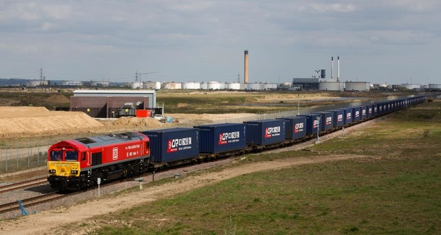 The first-ever freight train from Britain to China started its mammoth journey on April 10, along a  modern-day 'Silk Road' trade route as Britain eyes new opportunities after it leaves the European Union.