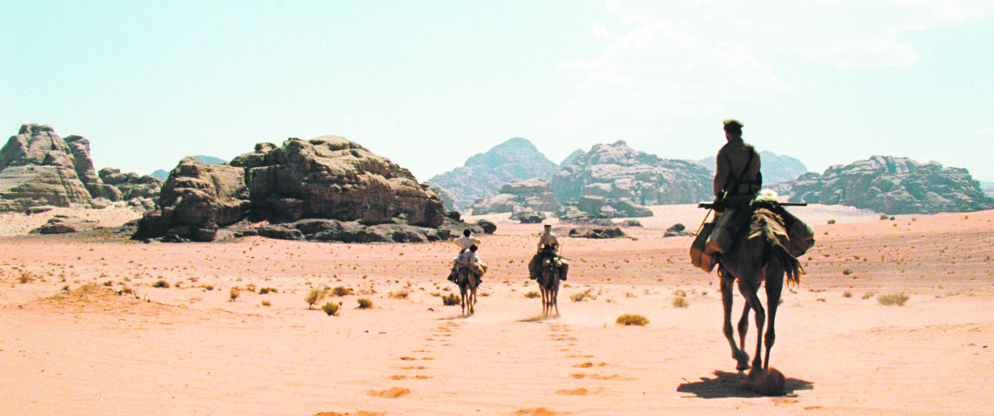 The film provides a portrait of the Bedouins during World War I and offers an interesting depiction of a weary Ottoman official in the Hejaz as something other than a cartoon villain we are used to seeing on the big screen.