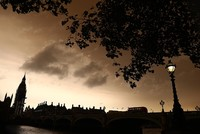 Storm Ophelia turns skies a spooky shade of sepia in Britain