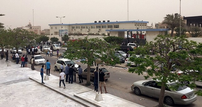 مقر مفوضية الانتخابات بالعاصمة الليبية طرابلس  (رويترز)