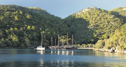 Sailing off on a Blue Cruise on the Turquoise Coast