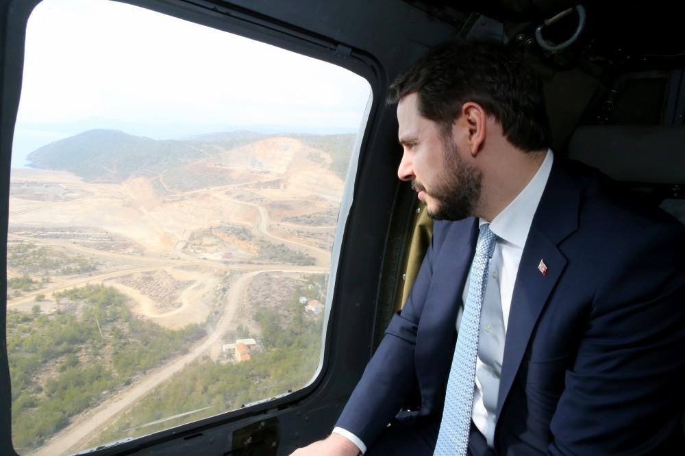 Energy Minister Berat Albayrak