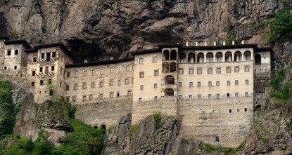 pOne of the favorite, crucial sites in Turkey in terms of religious tourism, Sümela Monastery, welcomes thousands of local and foreign guests each year, contributing both to tourism and the economy...