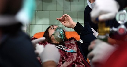 Airstrikes hit northern Syria after Aleppo gas attack