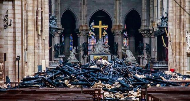 اليمين المتطرف الألماني يستغل حريق كاتدرائية نوتردام لنشر كراهية الإسلام