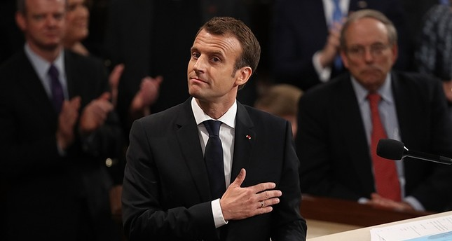 Macron calls on US to 'reinvent multilateralism'