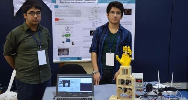 Turkish students crowned winners in robotics competition
