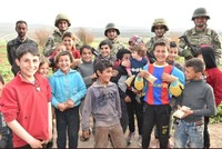 Children in Afrin happier with town liberated from YPG terrorists