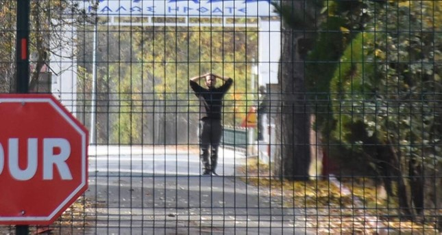 Daesh terrorist stranded on Turkey-Greece border will be sent to US