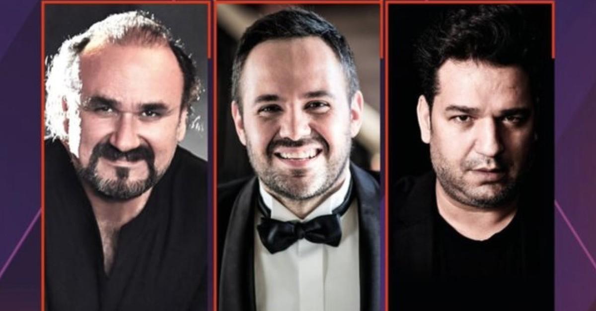 Murat Karahan, Hakan Aysev and Efe Ku0131u015flalu0131 will salute art lovers at Bodrum Ancient Theater Hall on Aug. 20.