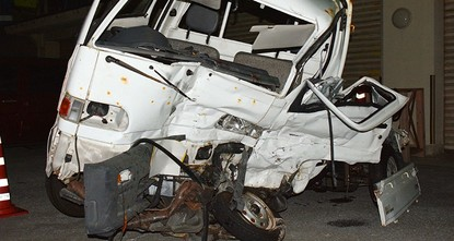 pU.S. military personnel in Okinawa have been restricted to base and banned from drinking alcohol after a Marine was arrested over a crash that killed a Japanese man in a case that was likely to...