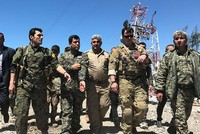 US officials visit YPG-held areas in Syria hit by Turkish airstrikes
