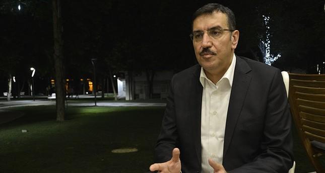 Turkish Customs and Trade Minister Bülent Tüfenkçi AA photo