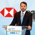 Risk premium drops significantly, volatility in economy stopped, Albayrak says