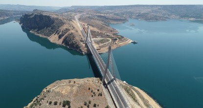 Nissibi Bridge boosts economy, tourism in southeastern Turkey