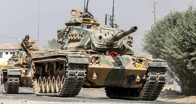 درع الفرات.. المدفعية التركية تدمر 103 أهداف لداعش وتواصل التقدم جنوباً